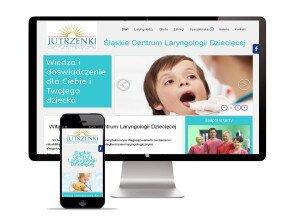 Realizacja strony www dla Śląskie Centrum Laryngologii Dzicięcej